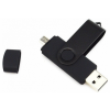 Quazar 2in1 smart pendrive 64GB (fekete) QZR-PE01-64-B