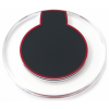 Quazar Vezeték nélküli töltõ Quazar Wireless charger power disk QZR-WR01 fekete