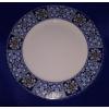 R2S Maiolica Blue lapos tányér, 26,5 cm