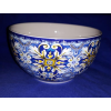 R2S Maiolica Blue porcelán tálka, 12 cm,