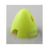RA Fluoreszcens orrkúp, 50 mm-es, SÁRGA, 2-lapátos