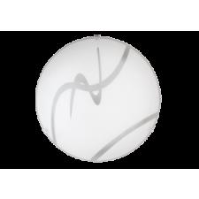 RÁBALUX Rábalux 1818 Soley, mennyezeti lámpa, D30cm E27 1x MAX 60W fehér/ átlátszó világítás