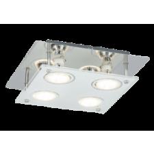 RÁBALUX Rábalux 2511 Naomi, mennyezeti lámpa LED Gu10 5W fényforrással Gu10 4x MAX 15W króm világítás