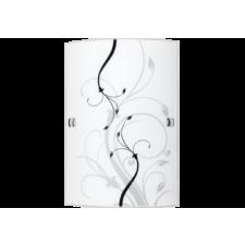 RÁBALUX Rábalux 3691 Elina Fali lámpa 18X26Cm E27 1X60W, fehér/fekete világítás