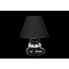RÁBALUX Rábalux 4950 Salem Kerámia asztali lámpa E14 Max. 40W, fekete-ezüst világítás