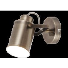 RÁBALUX Rábalux 5981 Peter, indusztriális stílusú szpot lámpa E27 MAX 60W antik bronz világítás