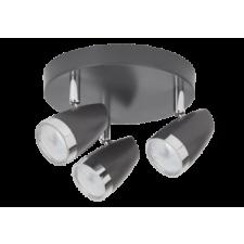 RÁBALUX Rábalux 6514 Karen, szpot lámpa beépített LED fényforrással LED 3x 4W antracit/ króm világítás