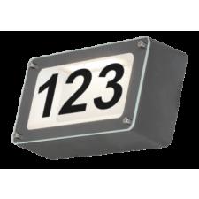 RÁBALUX Rábalux 8747 Hanover, kültéri házszám fény matrica szettel, beépített Led, Ip54, AntracitSzürke kültéri világítás