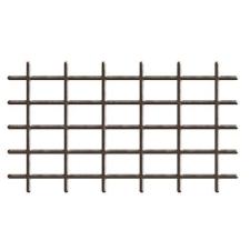 Rács, 145x42,5 cm, 4 / 4,7 mm, barna, kertészkedés
