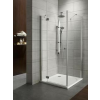 Radaway Torrenta KDJ /zuhanykabin 80*100 L/R króm profillal, többféle mintázatú üveggel