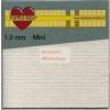 Ragasztókocka - 1mm mini - 3D Ragasztókocka 2,5 x 2,5 mm, holland