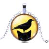 Ragyogj.hu Black cat nyaklánc  5.