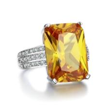 Ragyogj.hu Fiammetta - cirkóniaköves divatgyűrű gyűrű