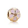 Ragyogj.hu Pandor@ Style ezüstözött medál-Virág