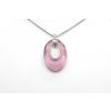 Ragyogj.hu - Swarovski Helios Swarovski medál - vastag vagy vékony nyaklánccal - Antique Pink
