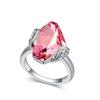 Ragyogj.hu - Swarovski Stone - rózsaszín-Swarovski kristályos-gyűrű