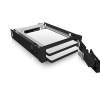 RaidSonic Icy Box IB-2227StS 2x 2.5'' SATA HDD or SSD fekete Mobile Rack