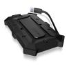 RaidSonic Icy Box IB-276U3 2.5'' vizálló SATA fekete SSD/HDD ház