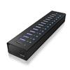 RaidSonic ICY BOX USB 3.0 HUB (13 portos, aktív)