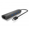RaidSonic IcyBox 3x Port USB 3.0 & Gigabit-LAN Hub