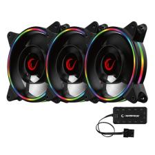 RAMPAGE Cooler 3x12cm - RB-K12 RGB (ház hűtésre, 3x 120mm ARGB LED) hűtés