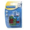 """RAPESCO Utántöltő kapcsok, RAPESCO, """"Supaclip"""" vegyes színben"""