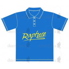 Rapture galléros póló XXL azúrkék férfi póló