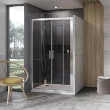 Ravak 10DP4 200  zuhanyajtó szatén + transparent(0ZKK0U00Z1) fürdőszoba kiegészítő