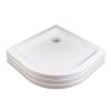 Ravak Kaskada Ronda 80 PU negyedköríves akril zuhanytálca (A204001120)