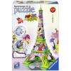 Ravensburger : Eiffel-torony pop art edition 216 darabos 3D puzzle