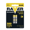Raver NiMH akkumulátor HR03 (AAA) 400mAh 2db/bliszter