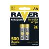 Raver NiMH akkumulátor HR6 (AA) 600mAh 2db/bliszter