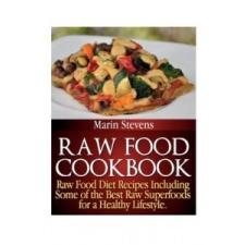 Raw Food Cookbook – Marin Stevens idegen nyelvű könyv