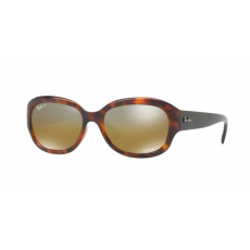 Ray-Ban B4282CH 6281A2 RED HAVANA BROWN MIR GREY GRADIENT POLAR napszemüveg