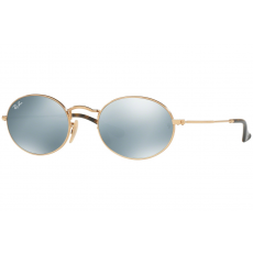 Ray-Ban Oval Flat Lenses RB3547N 001/30