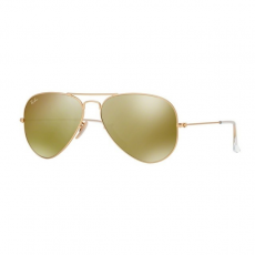 Ray-Ban RB3025 112/93 AVIATOR LARGE METAL MATTE GOLD BROWN MIRROR GOLD napszemüveg