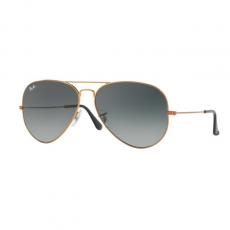 Ray-Ban RB3026 197/71  AVIATOR LARGE METAL II SHINY BRONZE LIGHT GREY GRADINT DARK GREY napszemüveg