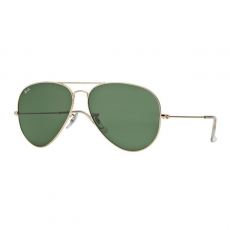 Ray-Ban RB3026 L2846 AVIATOR TM LARGE METAL II ARISTA CRYSTAL GREEN napszemüveg