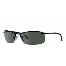 Ray-Ban RB3183 006/71 MATTE BLACK GREEN napszemüveg