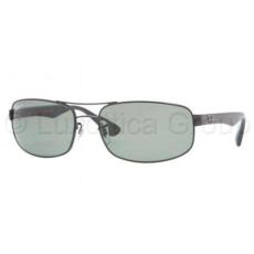 Ray-Ban RB3445 002/58 BLACK CRYSTAL GREEN POLARIZED napszemüveg