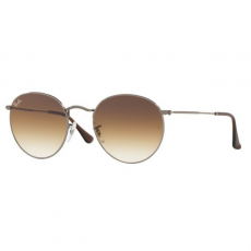Ray-Ban RB3447N 004/51 ROUND METAL GUNMETAL CRYSTRAL BROWN GRADIENT napszemüveg
