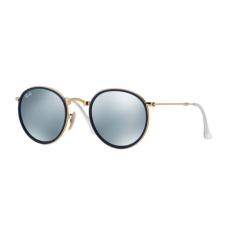 Ray-Ban RB3517 001/30 ROUND GOLD GREEN MIRROR SILVER napszemüveg