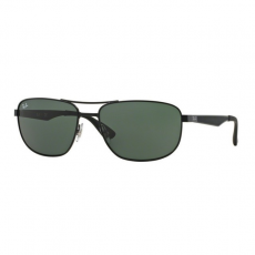 Ray-Ban RB3528 006/71 MATTE BLACK GREEN napszemüveg