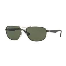 Ray-Ban RB3528 029/9A MATTE GUNMETAL DARK GREEN POLAR napszemüveg