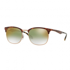 Ray-Ban RB3538 9074W0 COPPER ON TOP HAVANA GRADIENT GREEN MIRROR RED napszemüveg