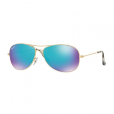 Ray-Ban RB3562 112/A1 MATTE GOLD BLUE POLAR FLASH napszemüveg