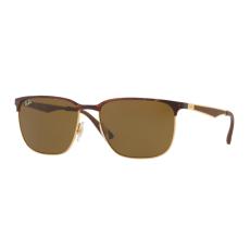 Ray-Ban RB3569 900873 GOLD TOP SHINY HAVANA DARK BROWN napszemüveg