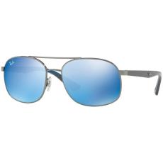 Ray-Ban RB3593 004/55 GUNMETAL BLUE MIRROR BLUE napszemüveg