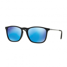 Ray-Ban RB4187 601/55 CHRIS BLACK LIGHT GREEN MIRROR BLUE napszemüveg