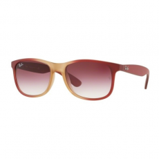Ray-Ban RB4202 63698H ANDY GRAD BORD ON RUBBER LT PINK TR CLEAR GRADIENT DARK VIOLET napszemüveg